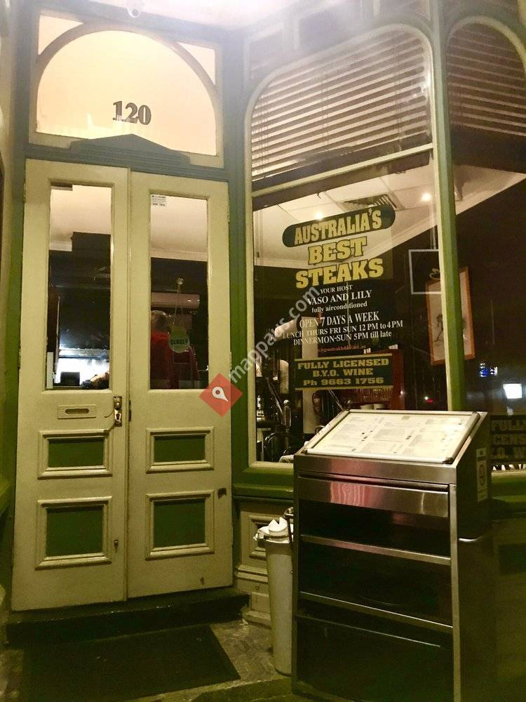 Lygon Charcoal Grill & Steakhouse Restaurant
