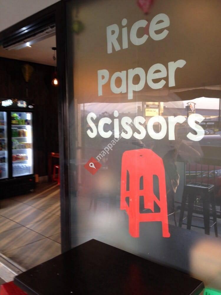 Rice Paper Scissors